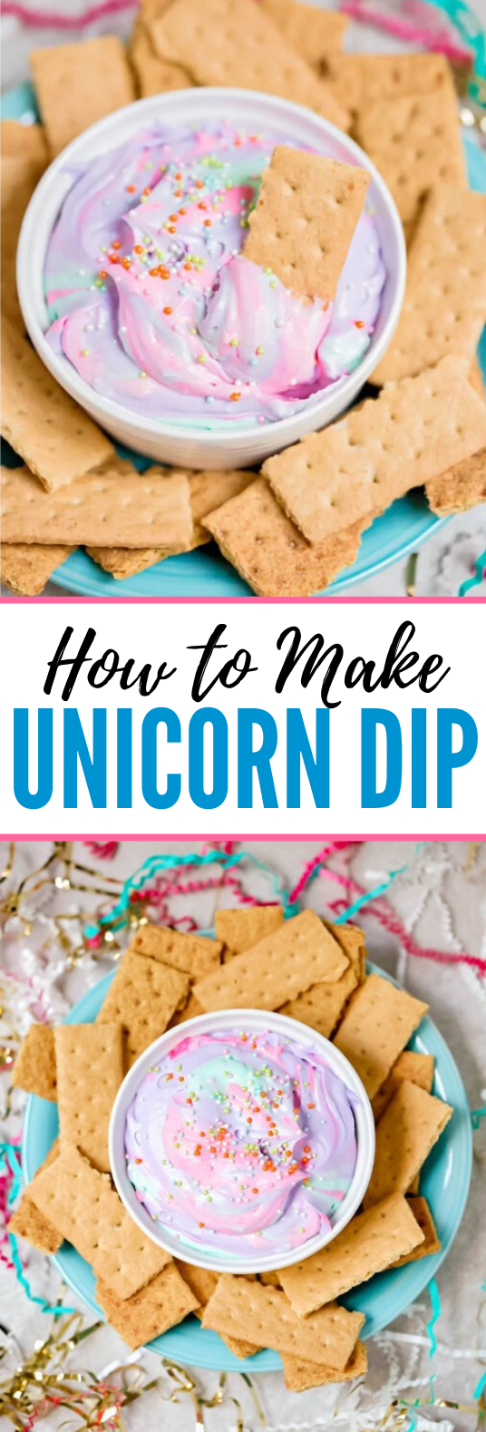 UNICORN DIP #desserts #partyfood