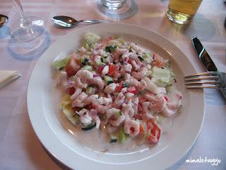 Cena en el Hotel Borgarnes