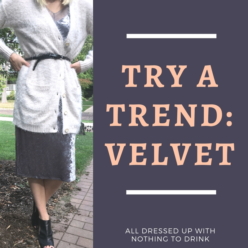 On Trend: Velvet!