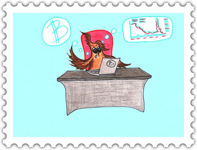 Красивые открытки бесплатно для вас / Beautiful postcards are free for you, p_i_r_a_n_y_a - Сова Ульяна и курс биткоина