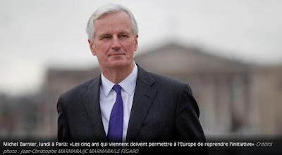 le négociateur européen Michel Barnier