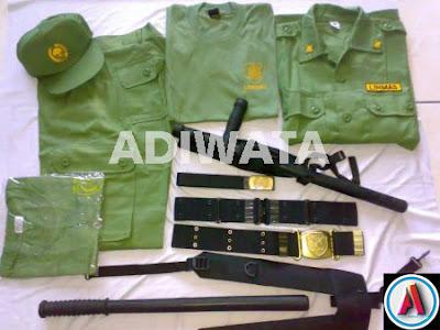 beli perlengkapan seragam linmas murah