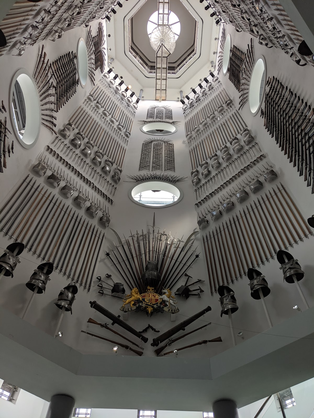 A Short Break in Leeds with Holidays by National Express  - Royal Armouries Staircase