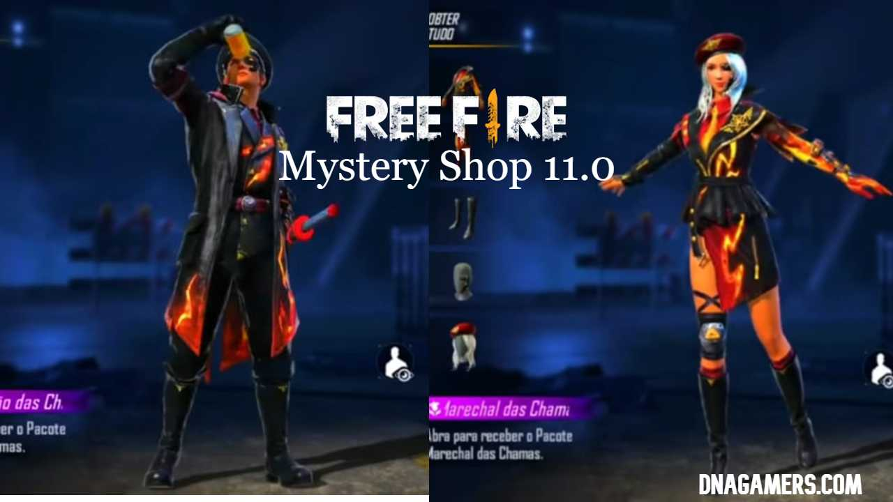 Free Fire Mystery Shop 11.0