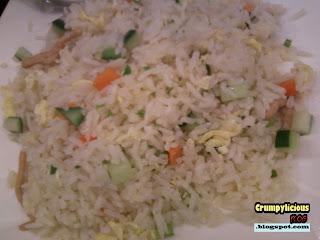 golden fried rice shredded pork