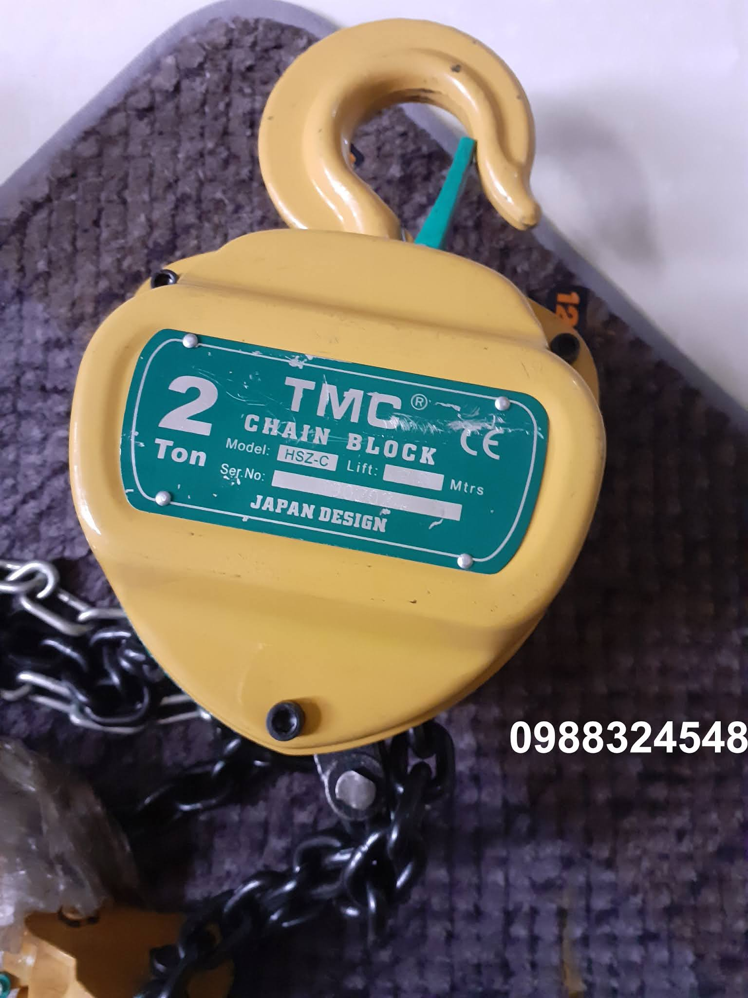palang kéo tay TMC 2 tấn