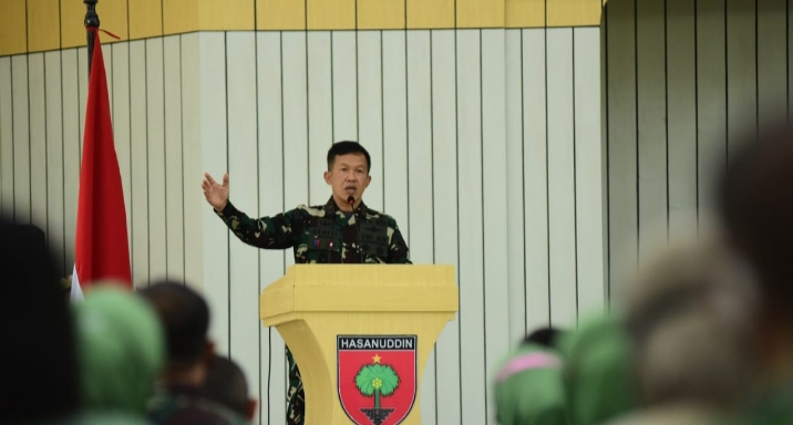 Pangdam XIV/Hasanuddin, Pengarahan Kepada Personel Gabungan Balakdam Hasanuddin
