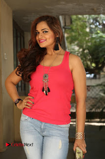 Tollywood Actress Ashwini Latest Stills in Ripped Jeans  0030.JPG