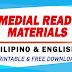 REMEDIAL READING MATERIALS (Filipino & English) Free Download