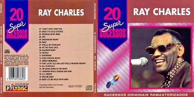 Ray Charles 20 Super Sucessos CD 2014