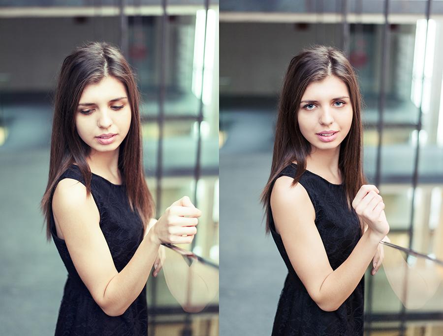 Portret kobiecy, fotografia, Lublin.