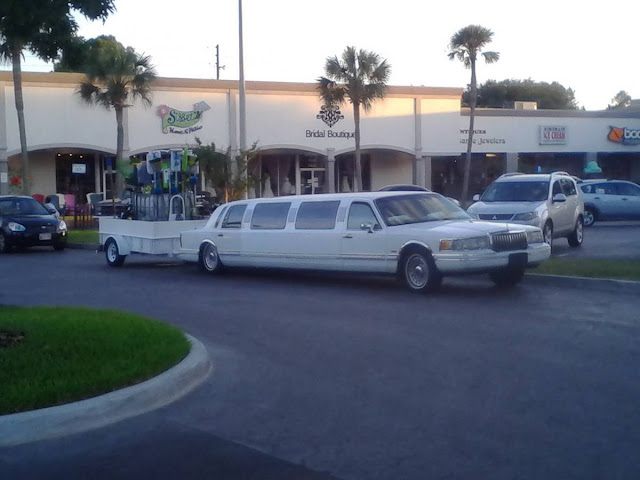limousine for rent and pull