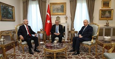Bertemu Pimpinan Partai Oposisi, PM Turki Bahas Isu Terorisme