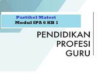 Partikel Materi - Modul IPA 6 KB 1