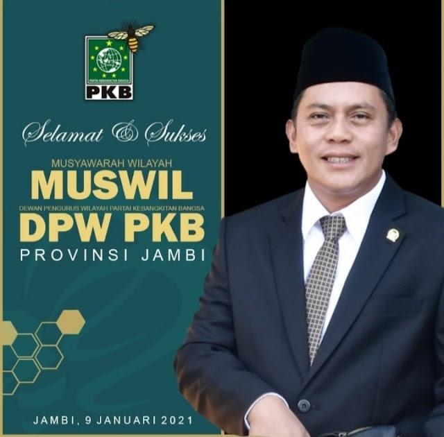Hari ini, Muswil PKB Provinsi Jambi Digelar