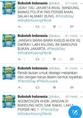 Bobotoh Persib Ngamuk Lewat Tagar #BandungTeuPaduli
