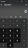 Calculator Application Not Working on Windows 10