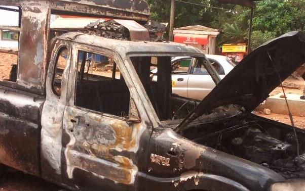 Gunshots as Somanya residents clash with Police