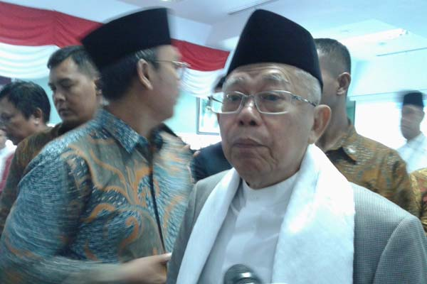 Singgung Radikal, Ma'ruf Amin Sebut Islam Indonesia Beda dengan Arab