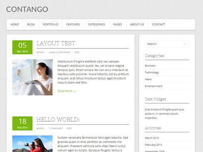 Contango Wordpress Theme