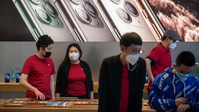 Apple cierra todas sus tiendas en China por el nuevo coronavirus