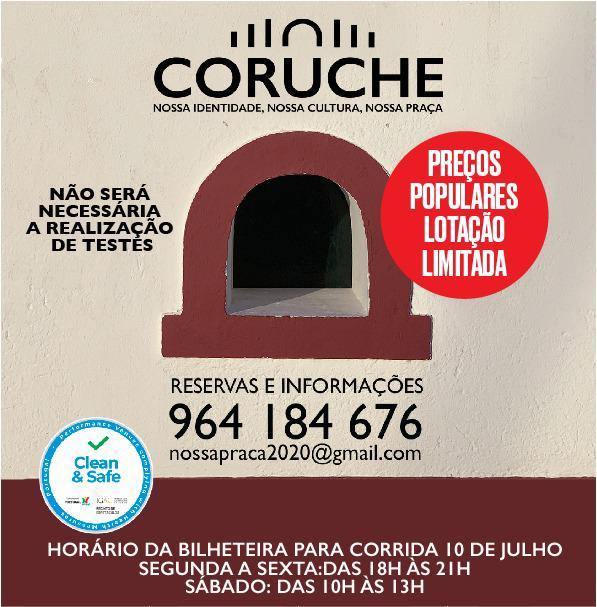 Corrida de Confrontos a 10 de Julho em Coruche