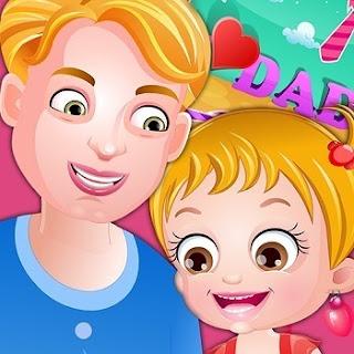Baby Hazel Father's Day