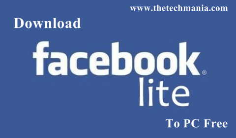 Free Download Facebook lite for PC/Laptop Windows XP, 7, 8