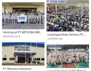 Loker PT Mitsuba Operator Produksi / Stafg