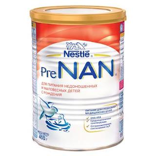Sữa PreNAN hộp 400gr từ 0 tháng tuổi - Sữa Nga xách tay chính hãng