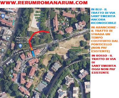 Vecchio tracciato Via Sant'Emerita