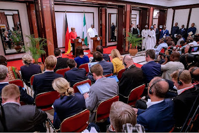 I Will Respect Rule Of Law and International Agreements - Buhari assures Angela Merkel