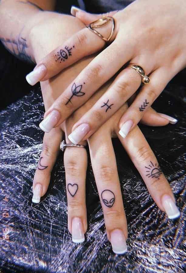 Tatuajes de protección en las manos