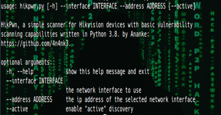 HikPwn : Simple Scanner For Hikvision Devices With Basic Vulnerability Scanning