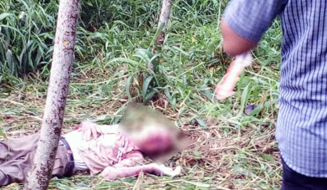 Kondisi mayat korban saat di lokasi