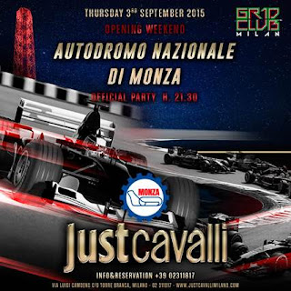 "THURSDAY 3 SEPTEMBER 2015 ""Official Party Autodromo di Monza"""