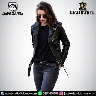 jaket kulit untuk wanita