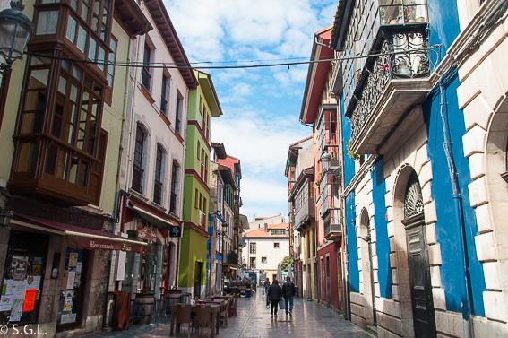 Casco historico de Ribadesella. Asturias