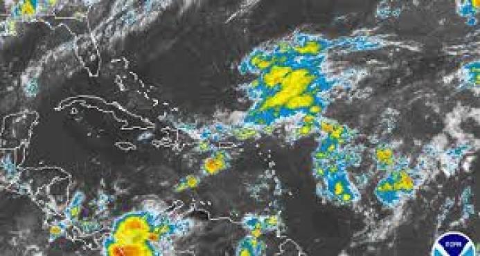 Meteorología pronostica aguaceros dispersos seguirán en horas de la tarde