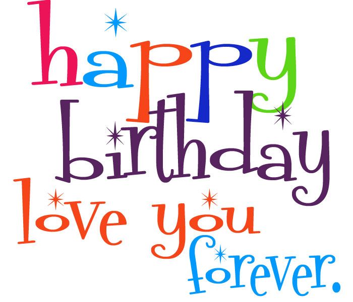 clipart for happy birthday - photo #45