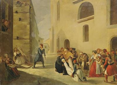 Ο-αυθεντικός-πίνακας-του-Διονυσίου-Τσόκου-με-την-δολοφονία-Καποδίστρια