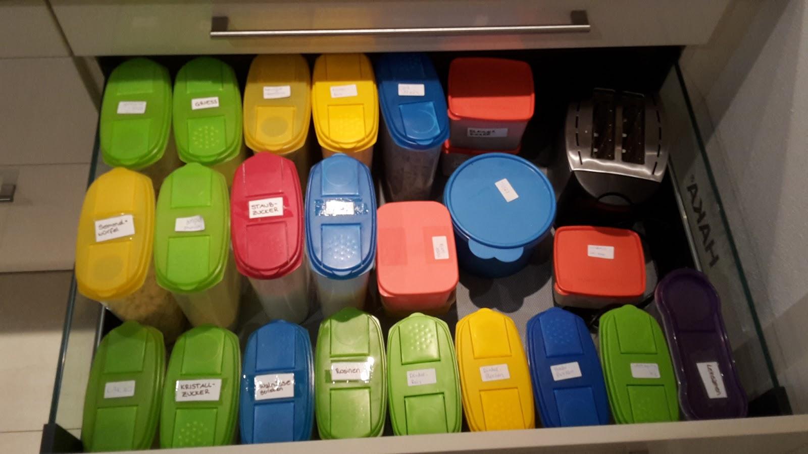 Küchen Aufbewahrungsbehälter abfallarme aufbewahrung in der küche