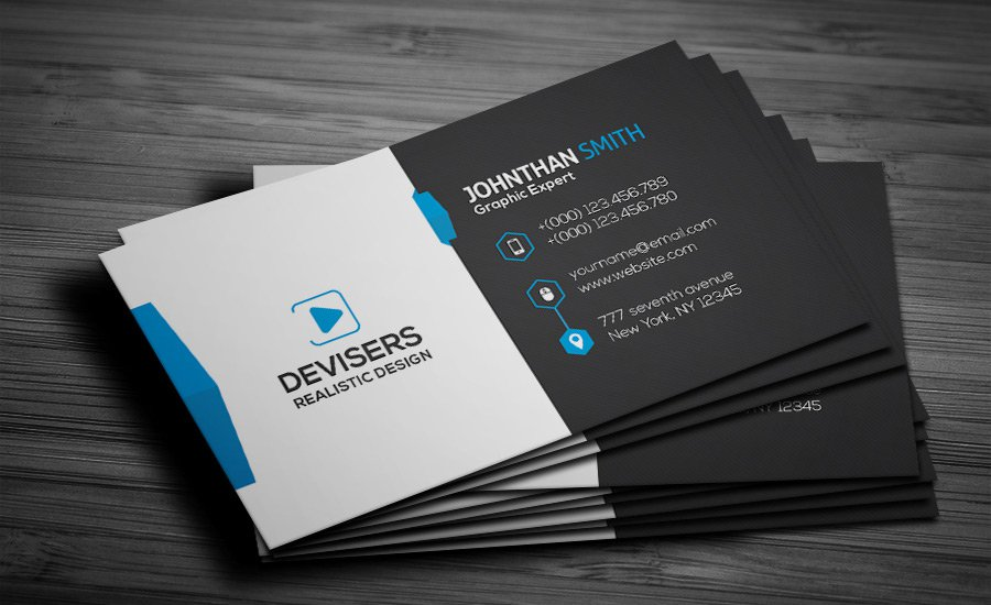 85 best free psd business card templates photoshop