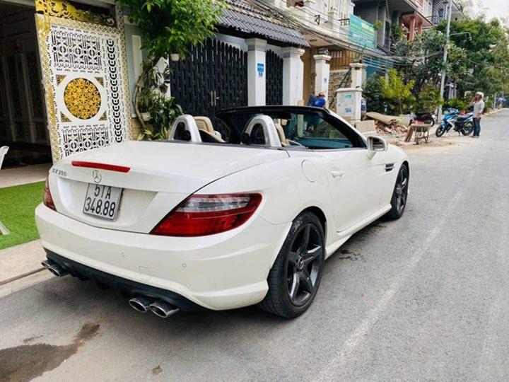 Xe hiếm Mercedes SLK 350 đời 2013 rao giá 1,4 tỉ đồng