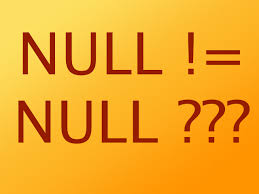 Javarevisited: How to check for NULL values in SQL Query? The Right