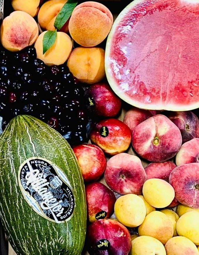 Julio: sus frutas y verduras