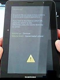 Flash Samsung Galaxy Tab 2 (GT-P3100)
