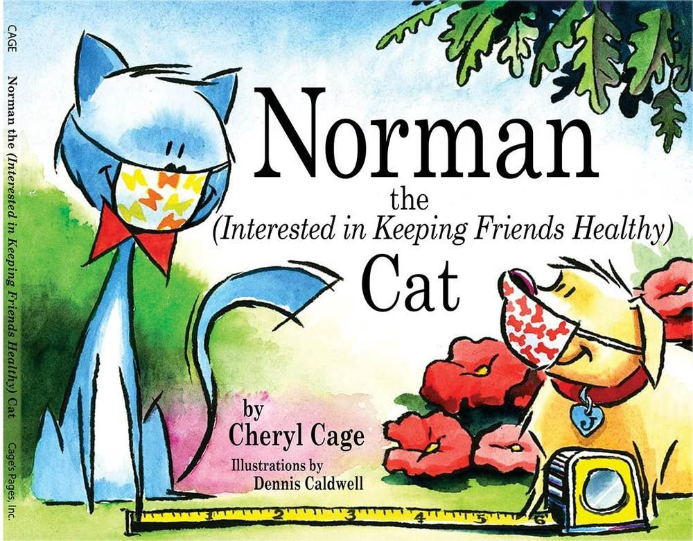 Book 2 Norman The Cat Interested in keeping friends healthy