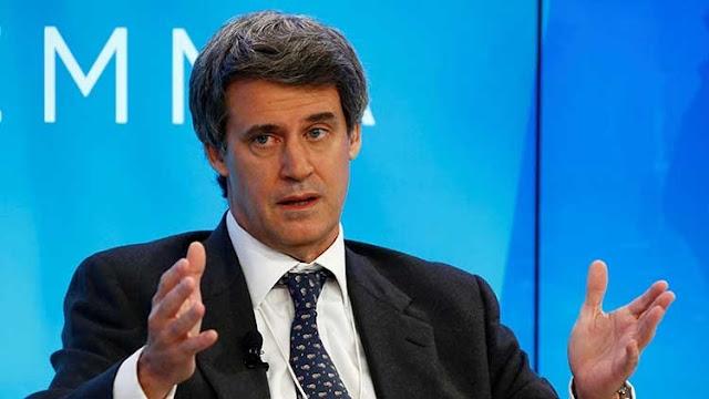 Renuncia el ministro de Hacienda y Finanzas de Argentina Alfonso Prat-Gay