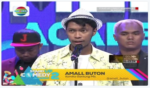 Peserta Stand Up Comedy Academy 2 yang Gantung Mik Tgl 26 Juli 2016